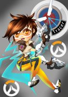 Tracer Overwatch by alenekoi