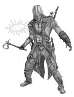 Connor Kenway by herdi6325