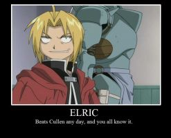 Elric Motivational Poster by PurpleNightmares
