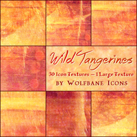 Wild Tangerines Texture Set by jordannamorgan