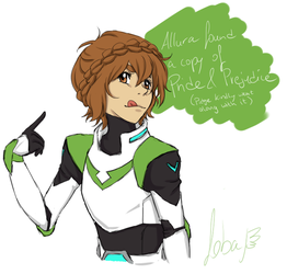 Pidge and Prejudice by Nahouki
