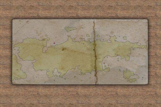 Old World - Continent of Verada- unfinished by meditatingmunky