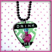 Drink Me Alice Necklace by wickedland