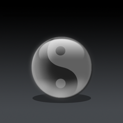 Yin Yang in phoyoshop by PlagueInfected