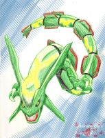 Rayquaza Quickie by DeiXIV