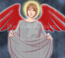 The Day all of Heaven Weeps by Porcelain-Requiem