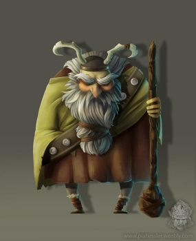 Viking grandpa by hasugraphics