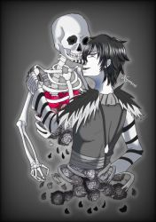 Laughing Jack ~The monochrome curse~ by nyamami