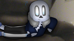 v0idless Sans in my house! by cjc728