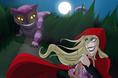 Red Riding Hood in Forrestland by erryCherry