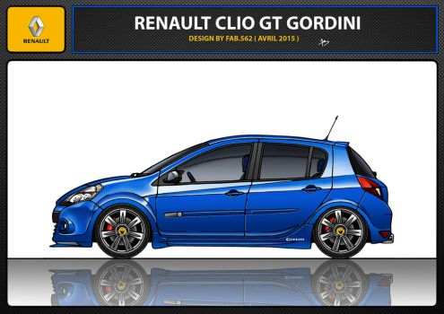 renault clio 3 gt gordini by fab562
