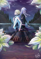 Lonely among Lillies by Astra-cat