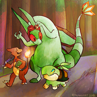 For ChaosCaptainFlygon by pengosolvent