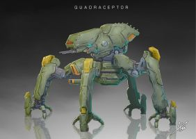 Commission: Quadraceptor by aiyeahhs