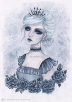 The dark sister by ARiA-Illustration