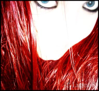 Red Hair I by LuanaS