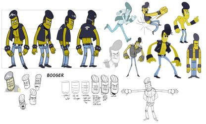 Booger Turnaround and Style Tests by StickDinosaur