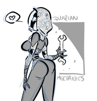 The Quarian by Fededraws