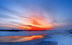 winter_sunset_panorama_1 by victor23081981