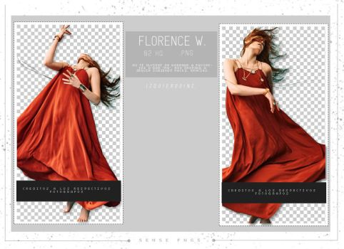 Pack Png 63 - Florence Welch by SensePngs
