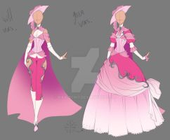 Wild'n'Gown + Process by rika-dono