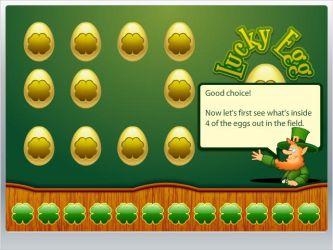 Lucky Egg game screen by mepine