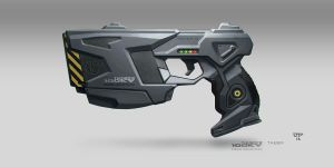 GREYSTONE Project - Taser - Aiwoo Industries by hunterkiller