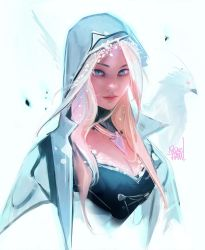 Winter Portrait by rossdraws