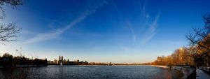 Central Park Reservoir by mnjul