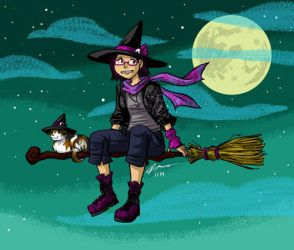 Witch by VanessaSatone