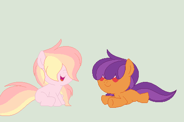 RosyVerse: Apple Blossom and Cox Orange by RoseLoverOfPastels