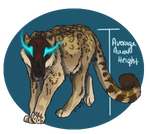Crag Cat - Tawny by ReapersMenagerie