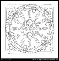 Knotty Mandala OPEN COLLAB by Quaddles-Roost