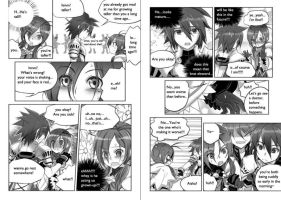 Elsword Comic Aisha and Elsword 2 by Somdulcimer