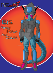 King Eis First Form Alt Color 2 by newbuu