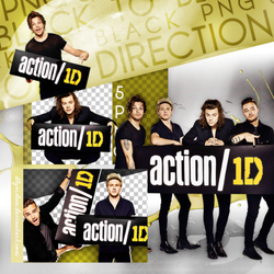 PNG Pack(55) One Direction by dlyerdem