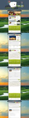 Golf Resort Skalica Corporate identity by fuxxo