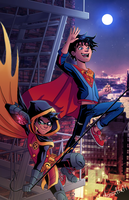 Supersons [SpeedPaint] by A-m-i-a-r-t