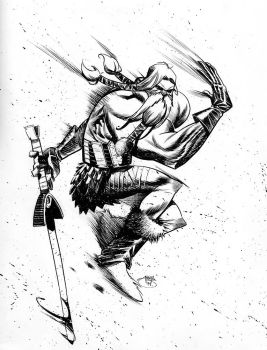 Head Lopper by Inkpulp
