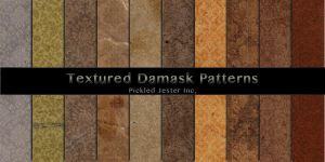 Textured Damask Patterns by Pickled-Jester-Inc