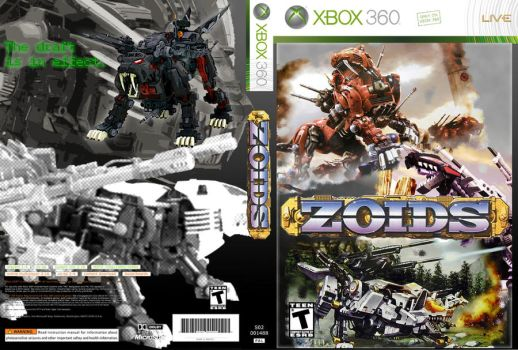 Zoids Game Cover by Mr-Carbon
