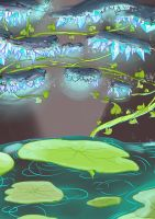 Bullets concept The Temple of the Frog King by BubbleDriver