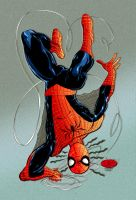 spiderman by john byrne by namorsubmariner