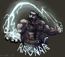 The Anointed One of Kord by AThousandRasps