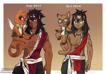 [FT OC] Draw this again - Kemik by Saccharinerose