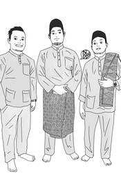 fuad and friends aidilfitri 2016 by budoxesquire