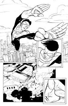 Invincible Page1 by kamgates
