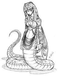 New Character-The Snake Queen by Dokuro