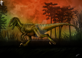 The Isle Utahraptor (Alternate color design) by Aram-Rex
