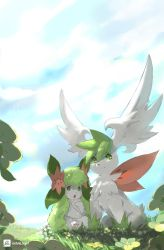 Sky and Land -Shaymin- by TysonTan